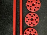 红色保温固定钉